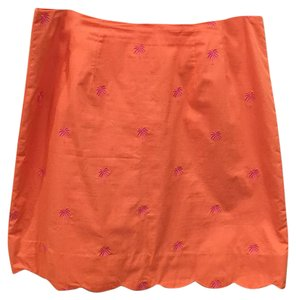Lilly Pulitzer Skirt Orange