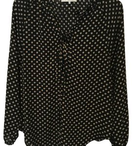 WAYF Top Black, pattern