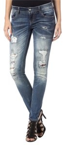 Miss Me Skinny Jeans-Distressed