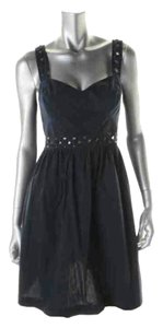 French Connection short dress Navy Blue Fcuk Sweetheart on Tradesy