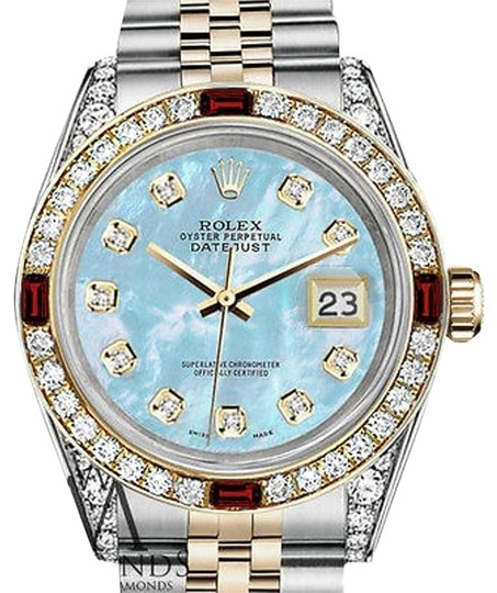 Preload https://img-static.tradesy.com/item/17236936/rolex-women-s-steel-and-gold-31mm-datejust-baby-blue-mop-ruby-diamond-watch-0-1-540-540.jpg
