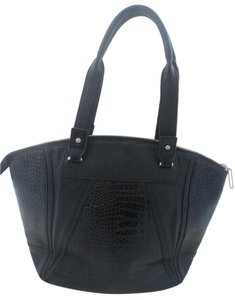 W118 by Walter Baker Crocodile Tote in Black