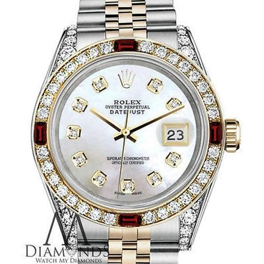 Preload https://img-static.tradesy.com/item/17237437/rolex-steel-and-gold-36mm-datejust-white-mop-dial-ruby-and-diamond-watch-0-1-540-540.jpg