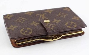 Louis Vuitton France Kisslock Bifold Wallet With Coin Pocket Monogram