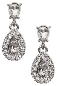Givenchy Givenchy Silvertone Drop Earrings