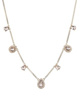 Givenchy Givenchy Goldtone Frontal Necklace