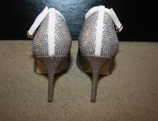 J.Crew Pale Gold Glitter Pumps Image 3