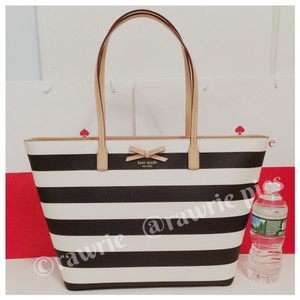 Kate Spade Neutral Oversized Large Tote Black Travel Bag