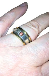 Designers Originals One of a kind, sterling silver Spinner Ring