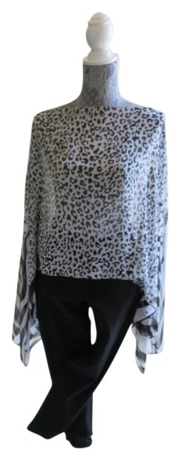 Preload https://img-static.tradesy.com/item/17238340/blackwhite-new-summer-top-wrap-animal-print-collection-cover-upsarong-size-os-one-size-0-1-650-650.jpg