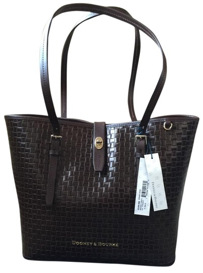 Preload https://img-static.tradesy.com/item/17238511/dooney-and-bourke-woven-claremont-dover-rare-brown-t-moro-leather-exterior-and-fabric-lining-tote-0-1-540-540.jpg