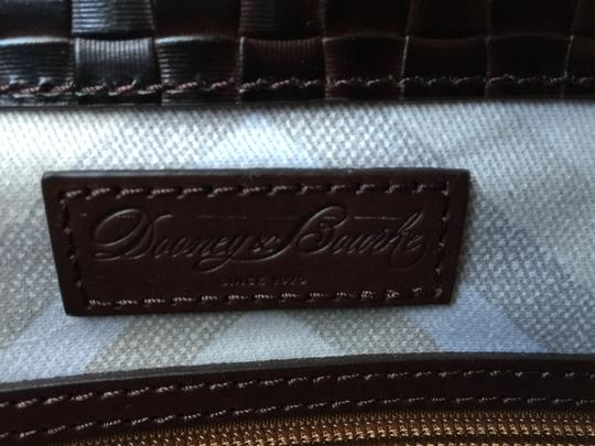 Dooney & Bourke Woven Dover New With Tags (Nwt) Middle Divider Tote in Brown T'moro Image 10