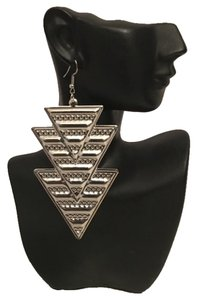 Other New Silver Tribal Arrowhead Tribal Dangle Earrings