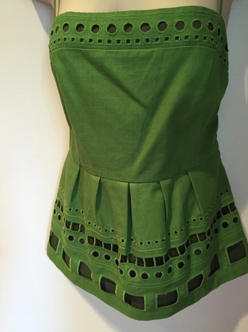 Anthropologie Top Kelly green Image 2