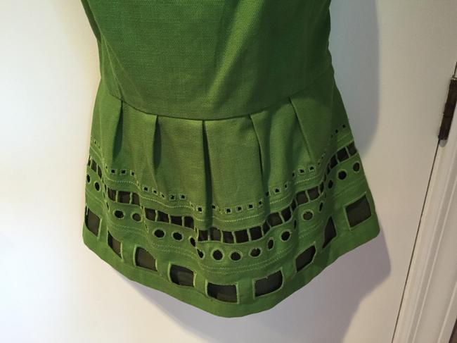 Anthropologie Top Kelly green Image 3