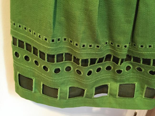 Anthropologie Top Kelly green Image 4