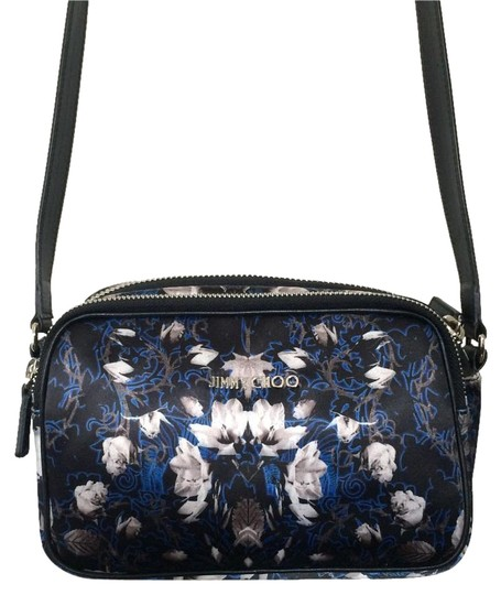 Jimmy Choo Opal Satin Cross Body Bag