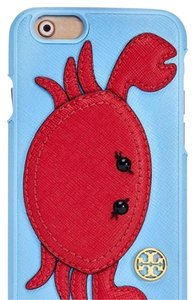 Tory Burch RIVIERA BLUE CARL THE CRAB APPLIQUE HARDSHELL CASE FOR IPHONE 6