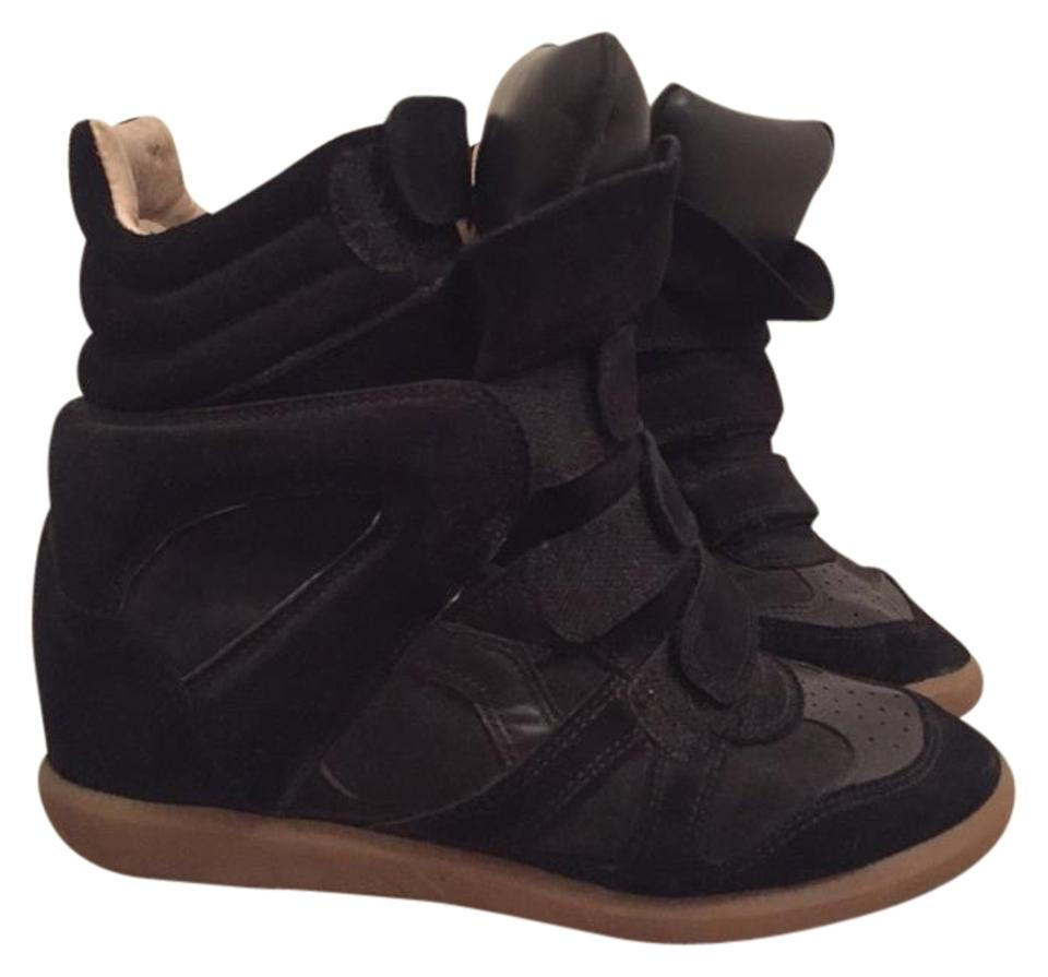 Isabel Marant Black Beckett Sneakers Wedges Wedges Sneakers cda162