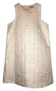 Zara short dress Creme on Tradesy