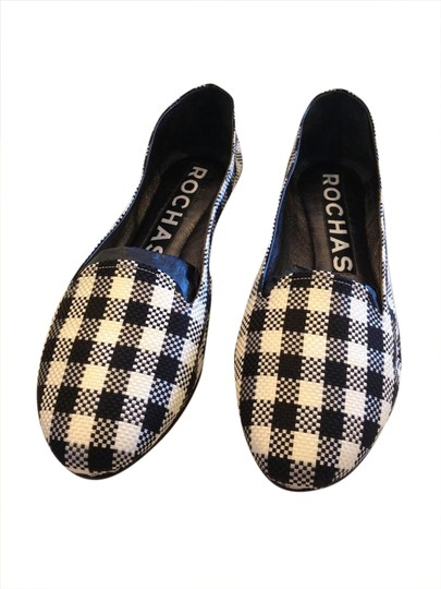Rochas BLACK AND WHITE Flats