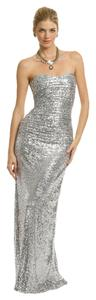 Badgley Mischka Wedding Prom Sequin Occassion Dress