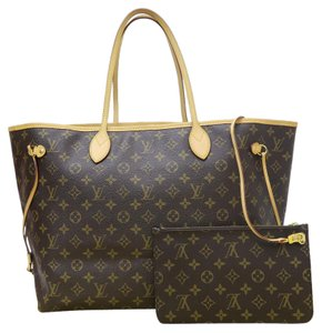 Louis Vuitton Lv Neverfull Gm Shoulder Bag