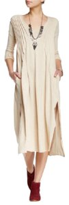Champagne Maxi Dress by Free People Sophie Maxi