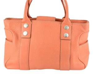 Michael Kors Satchel Shopper Tote in Tangerine