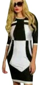 Black/white Maxi Dress by Arden B.