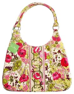 Vera Bradley Floral Shoulder Hobo Bag