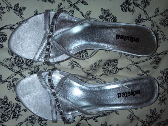 Unlisted by Kenneth Cole silver Sandals Image 2