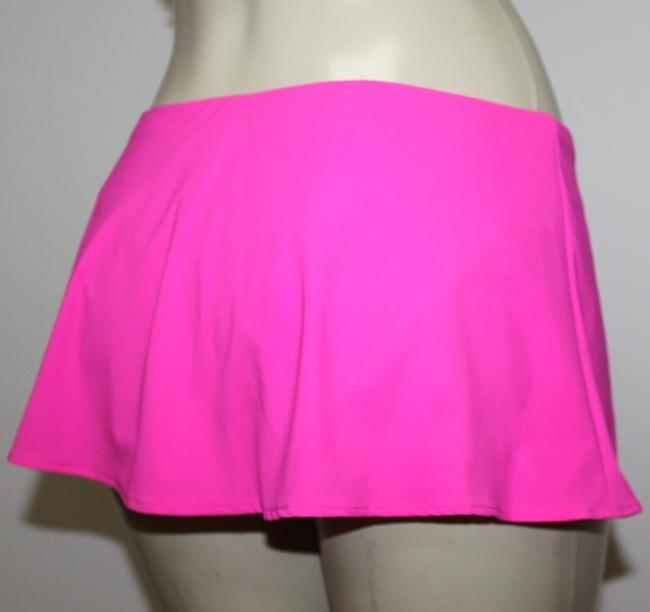 Gottex GOTTEX Flirty Skirted Hipster Bikini Swimsuit Bottoms Pink Sz 10 M