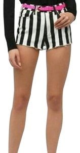 Urban Outfitters Mini/Short Shorts Black and White