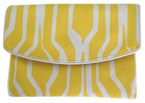 Ann Taylor Yellow Clutch