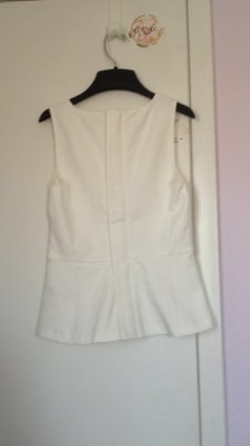 J.Crew Peplum Top white
