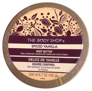 The Body Shop THE BODY SHOP SPICED VANILLA BODY BUTTER