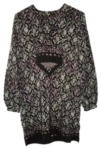 Anthropologie Silk A Common Thread Long Tunic