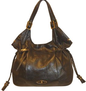 Elliott Lucca Leather Dust Hobo Bag