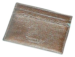 Tiffany & Co. Tiffany & Co Leather Collection Card Case