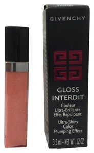 Givenchy Get 2 pcs of GIVENCHY Gloss Interdit 03 CORAL FRENZY Ultra shiny.