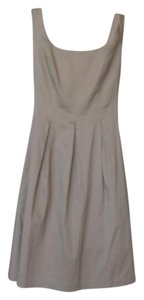 Nine West short dress Khaki on Tradesy