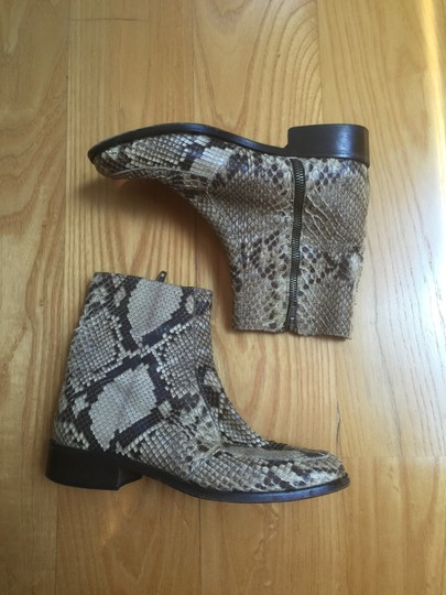 Anne Klein Python Leather Ankle Italy Boots Image 2