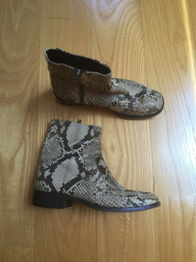 Anne Klein Python Leather Ankle Italy Boots Image 3
