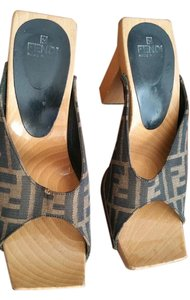 Fendi Brown Platforms