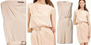 Theory New Silk Pink Dress