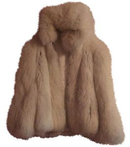 Candian Golden Fox Fur Fur Coat