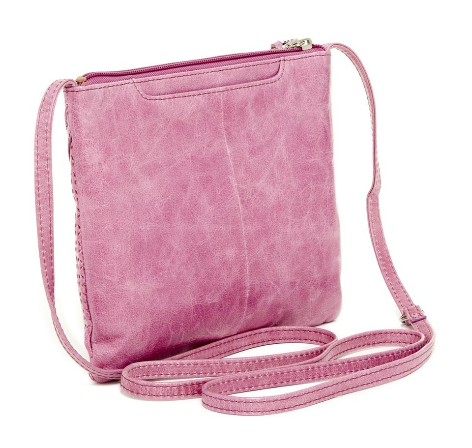 Hobo International Liza Leather LILAC Cross Body Bag on Sale, 42 ...