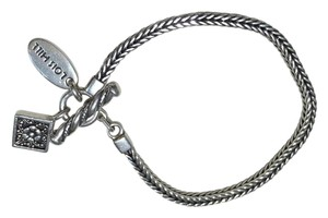 Lois Hill Lois Hill Sterling Silver Braided Chain Bracelet