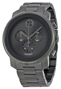 Movado Grey Stainless Steel Designer MENs Casual Sport Watch